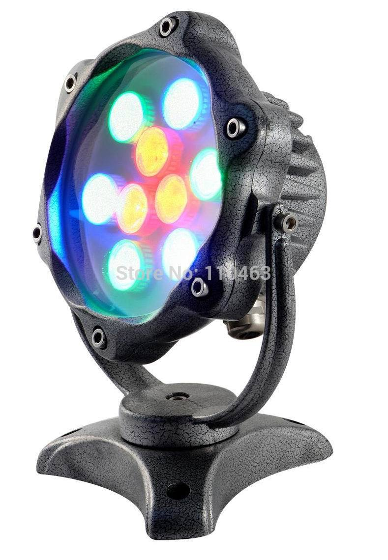 IP68 waterproof Led underwater light 7w fountain light