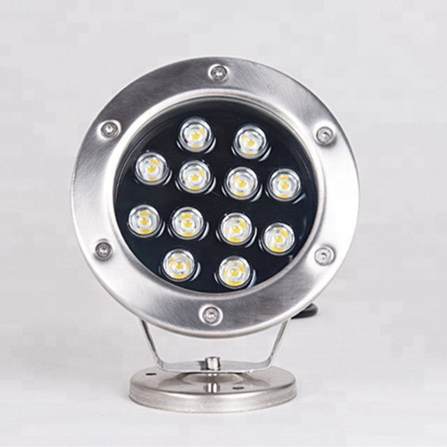 High Voltage 18W IP68 Waterproof UL Quality White and Rgb Controlled by Power Switch UL Quality White Fountain Led Underwater Light AC85~265V
