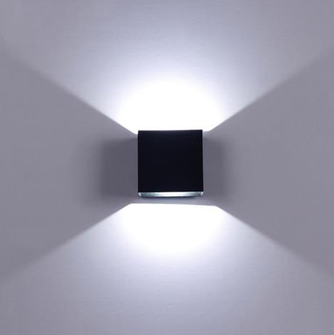 6w Wall Sconce LED Up Down Wall Light Aluminum Wall Lamp AC110V AC220V Indoor Wall Lighting For Bedroom Living Corridor
