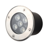5W Led Underground Lamps Buried Lights Garden Outdoor Lighting IP67 CE&RoHS Waterproof LED Underground Light