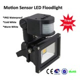 High Power IP65 Waterproof Mosion Sensor Led Flood Light