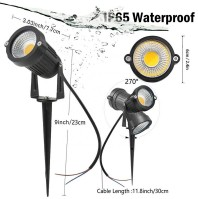 Aluminum Waterproof Outdoor Garden Spike Led Light